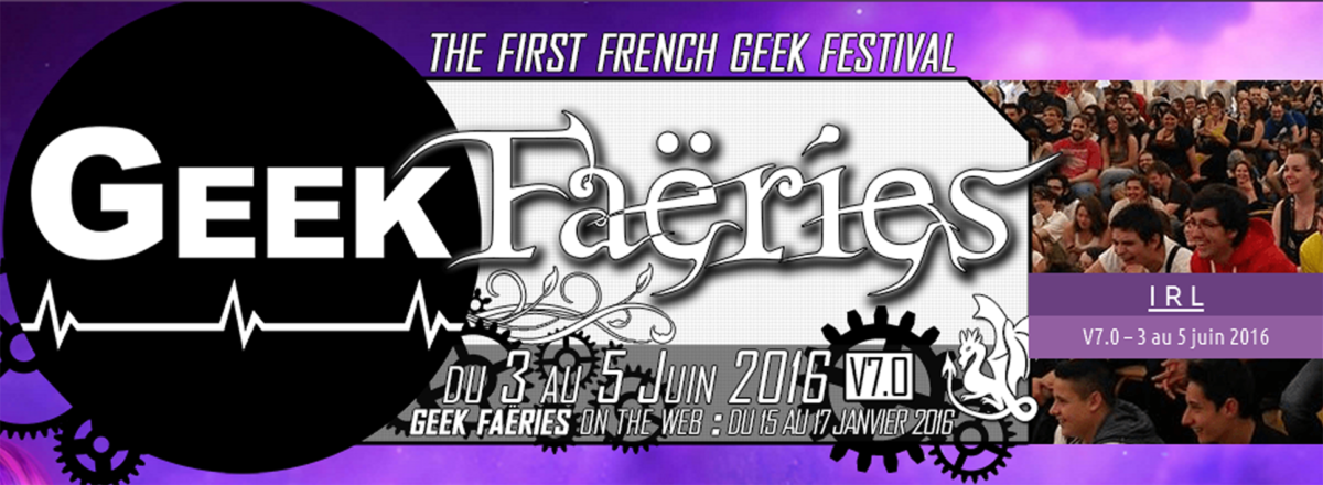 Geek Faëries 2016