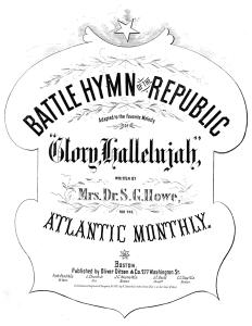 Nord et Sud : Couverture de la partition musicale de 1862