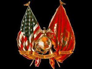 Drapeaux de l'USMC