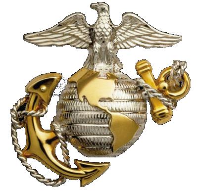 """Alt=""""Base de l'Emblème de l'USMC"""""""