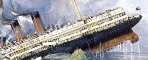 Le Lusitania torpillé
