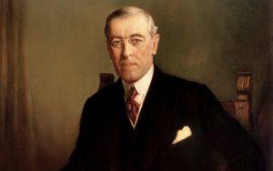 Président Thomas Woodrow Wilson