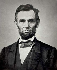 Abraham Lincoln Novembre 1863