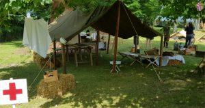 Reconstitution Camp US infirmerie