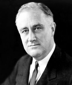 Franklin Delano Roosevelt en 1933