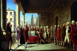 Investiture George Washington 30 avril 1789