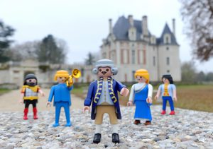 Les PLAYMOBIL® sont déjà sur le chemin du château