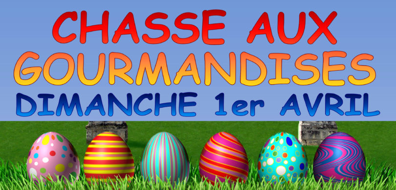 Chasse aux gourmandises 2018