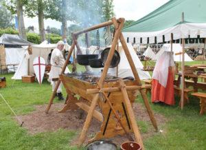 Les Illusions de la Lionge La Cuisine médiévale
