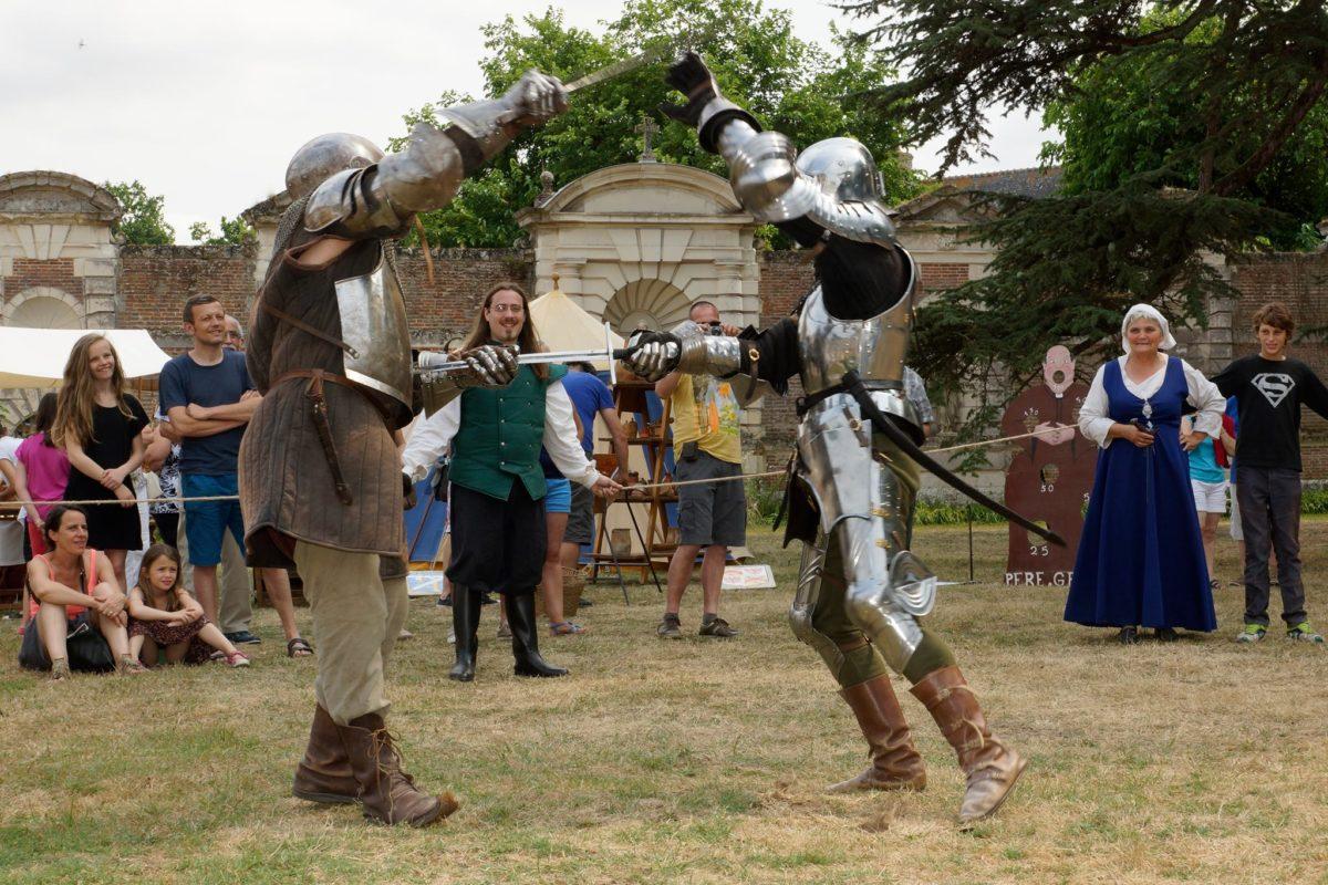 Combat Médiéval Châtea Selles-sur-Cher