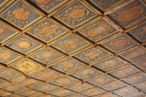 Les plafonds à caissons