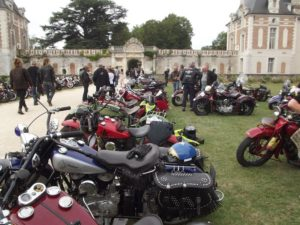 Motos Indian au château de Selles-sur-Cher