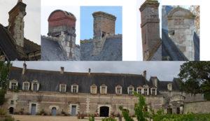 Les cinq cheminées du médiéval