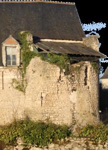 La tour médiévale ouest