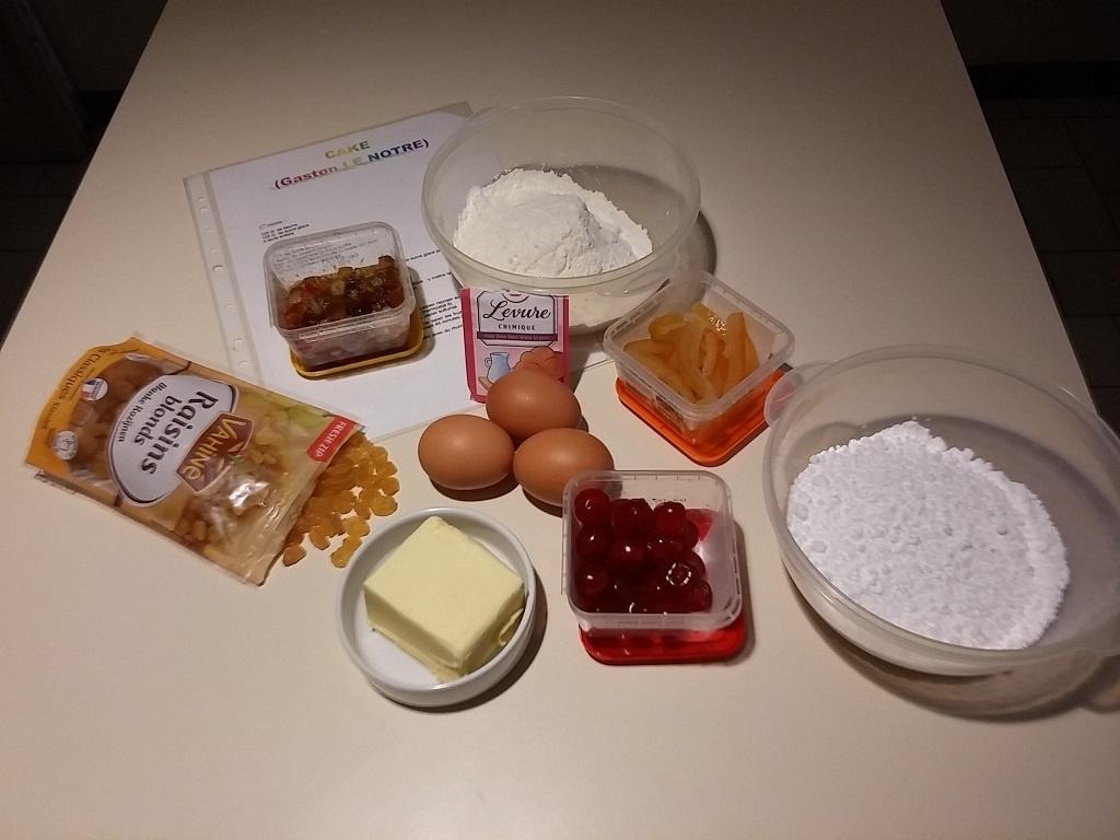 astuce confinement recette de cake