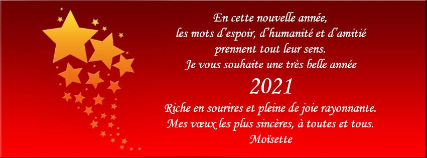 joyeuse année 2021