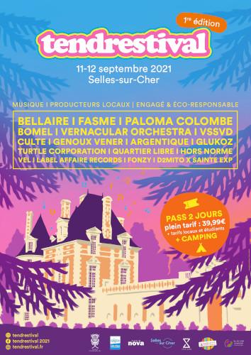 tendrestival -  festival de musique au château de Selles sur Cher